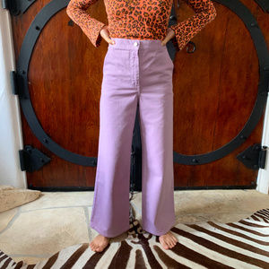 """RACHEL COMEY """"clean bishop pant"""" size 2 in Lilac"""
